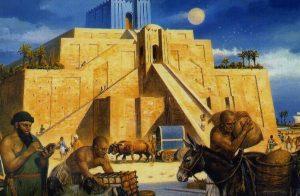 -2094 г. до н.э. Ур-Намму ведет строительство Великого зиккурата в Уре