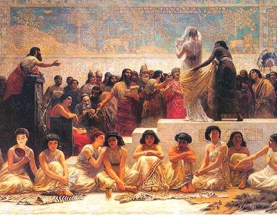 -450 г. до н.э. Геродот описывает храмовую проституцию в Вавилоне