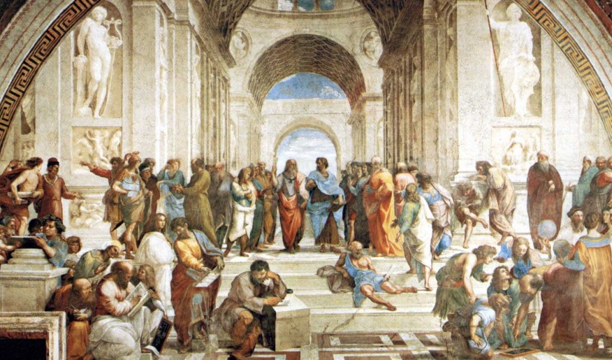 -387 г. (до.н.э) Платон основал философскую Академию в Афинах