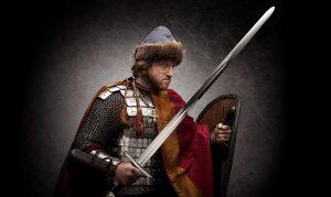 1151 г. Андрей Юрьевич Боголюбский встречается с Изяславом Мстиславичем на поле битвы при реке Руте