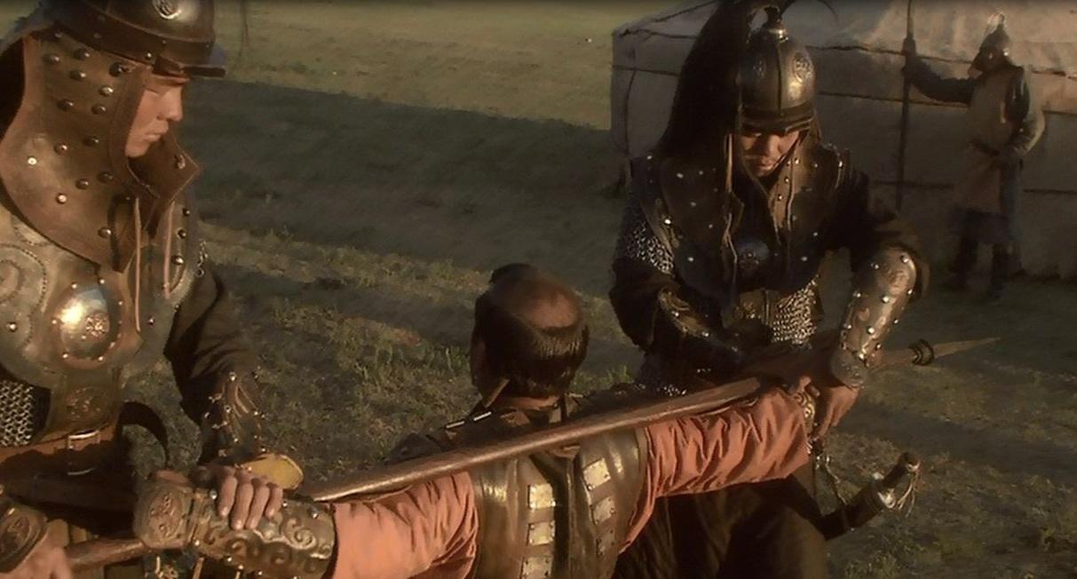 1205 г. Темучин (Чингисхан) казнит Джамуху
