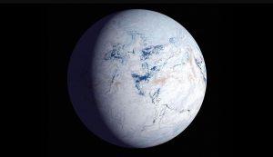 - 2,4 млрд. лет (до.н.э.) Гуронское оледенение в результате формирование кислородной атмосферы и сокращения метана в ней