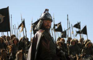 1200 г. Джэбэ ранил Темучина (Чингисхана) в шею во время сражения