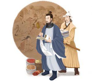1215 г. Елюй Чуцай астролог и советник Алтан-хана предстаёт перед Чингисханом