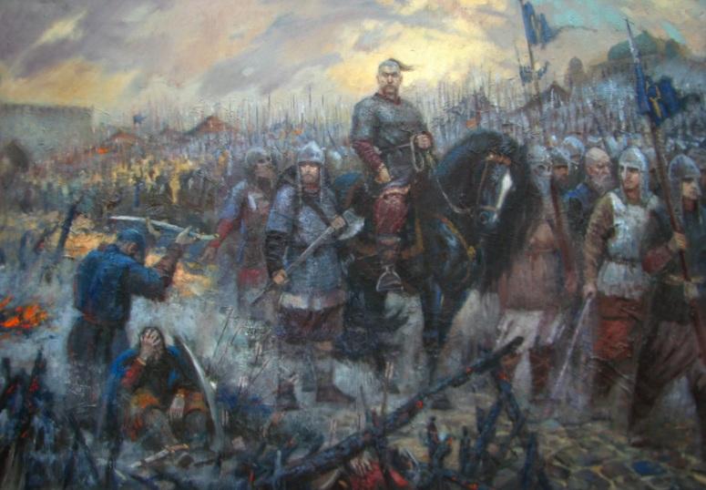 969 г. Святослав задумал перенести столицу в Переяславец на Дунае