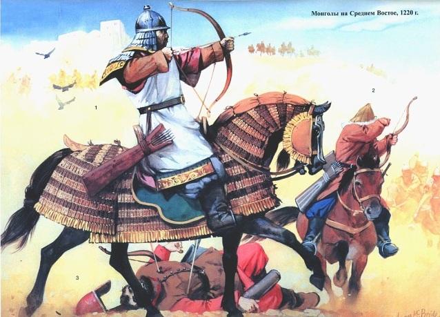 1221 г. Толуй взял Нишапур и вырезал жителей города