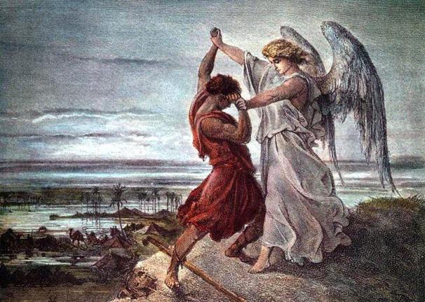 -1850 г. до н.э. Иаков (Израиль) борется с Богом