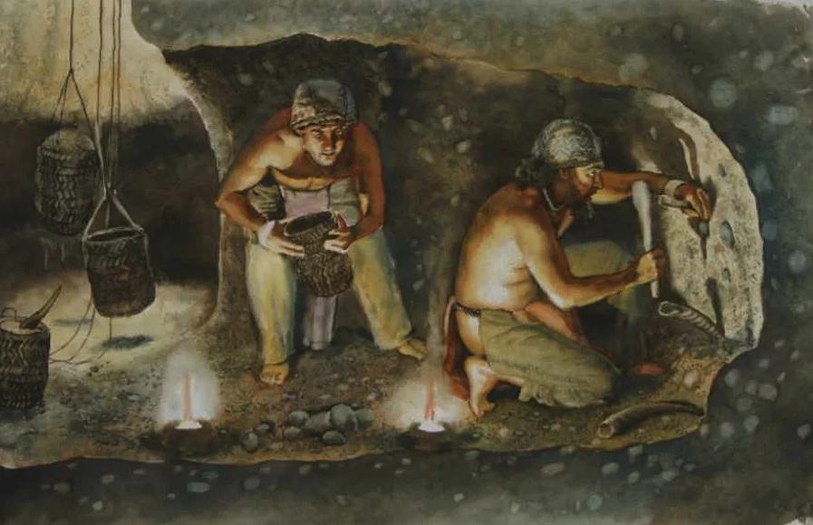 -6200 г. до н.э. Люди принесли в жертву детей в основании постройки неизвестного назначения