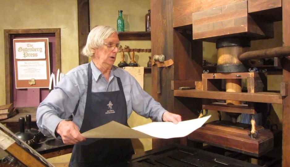 1440 г. Иоганн Гутенберг изобретает книгопечатание подвижными литерами