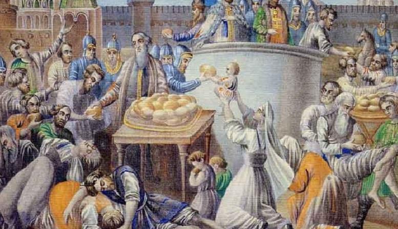 1603 г. Великий голод свирепствовал в Русском царстве