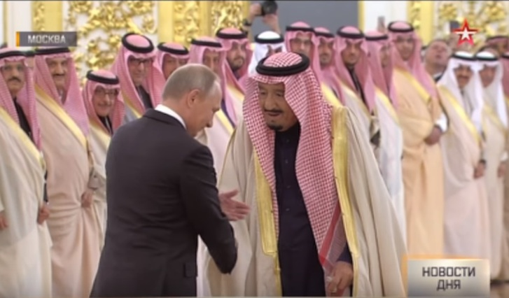 Зачем король Саудовской Аравии приезжал в Россию