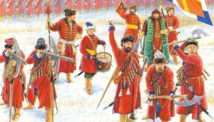1556 г. Иван IV Грозный выпускает Уложение о службе и реформирует армию