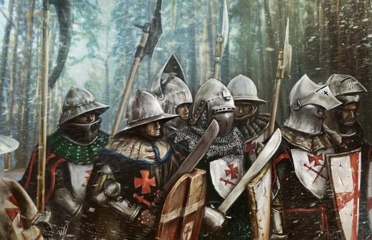 1560 г. Ливонский орден распался во время Ливонской войны с Московией