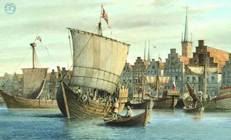 1557 г. Иван IV Грозный строит порт на Балтийском море для торговли с Европой