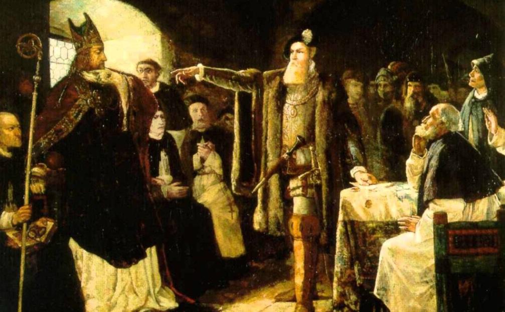 1555 г. Густав I Ваза, шведский король, приказывает осадить русскую крепость Орешек
