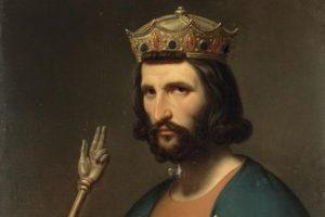 987 г. Гуго Капет короновался в Нуайоне и положил начало династии Капетингов