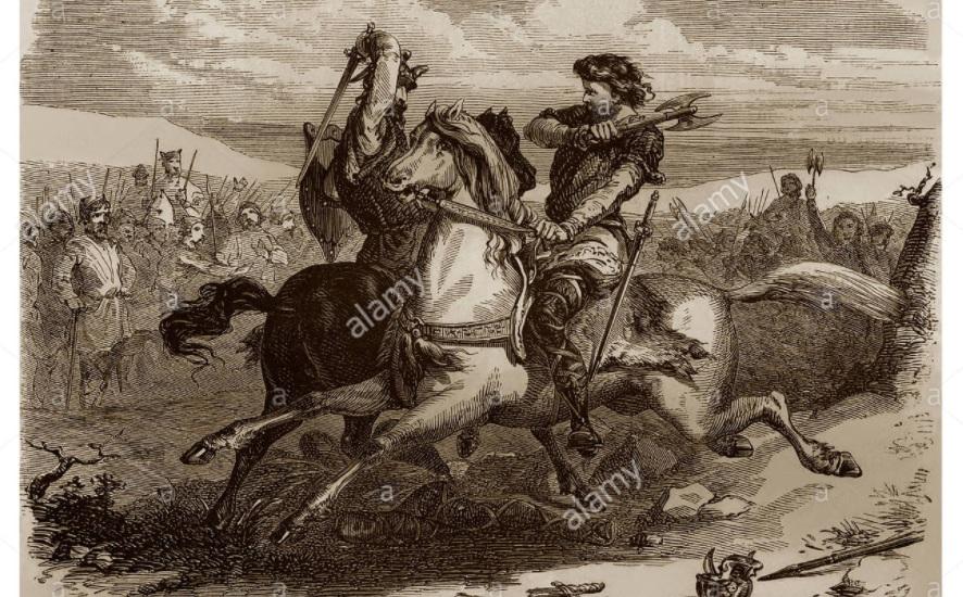 886 г. Эд Парижский, будущий король Франции, героически защищает Париж от норманнов