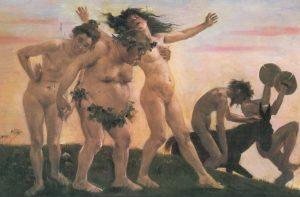 -186 г. до н.э. Сенат запретили оргиастические народные культы Бахуса-Дионисия-Либера