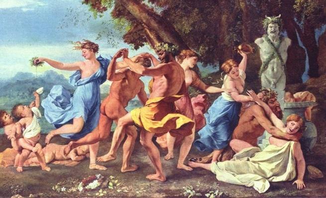 -493 г. до н.э. Римляне отправляли культы фаллического бога Либера