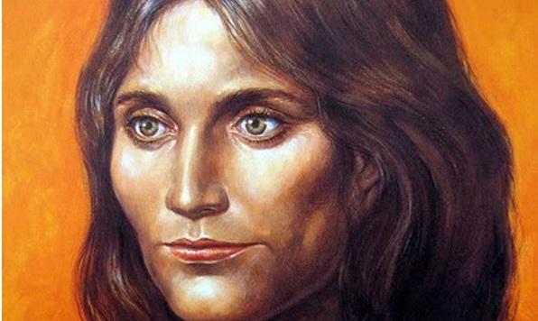 -1800 г. до н.э. Лоуланьская красавица, молодая женщина европеоидной рассы, погребена в окресностях Лоуланя