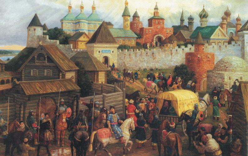1164 г. Андрей Юрьевич Боголюбский взял булгарский город Бряхимов (Ибрагимов)