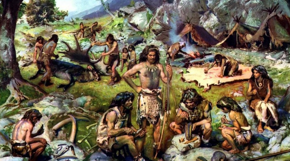 1868 г. Луи Ларте обнаружил останки кроманьонца в гроте Кро-Маньон