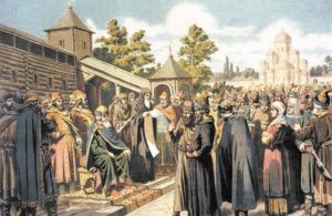 1015 г. Ярослав пошёл на Святополка