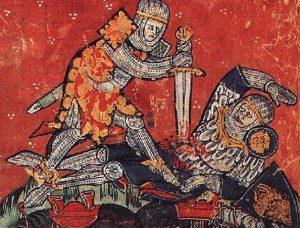 1302 г. Фламандская буржуазия организовала резню французов под названием Брюггская заутреня