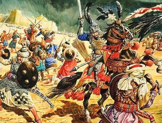 796 г. Эрик Фриульский захватывает столицу Аварского каганата