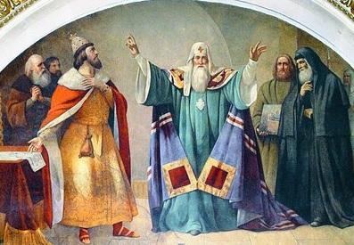 1325 г. Петр митрополит Киевский переносит кафедру в Москву