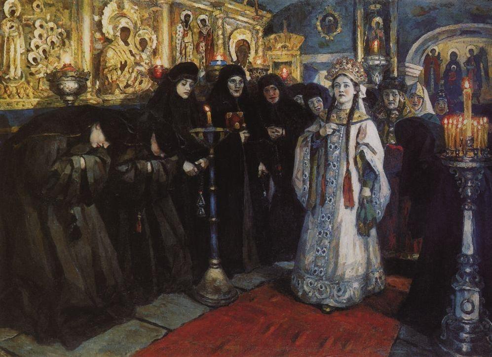 1560 г. Анастасия Захарьина-Юрьева, супруга Ивана IV, отравлена недоброжелателями