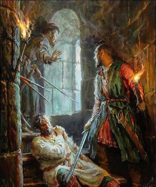1174 г. Андрей Юрьевич Боголюбский убит в Боголюбово