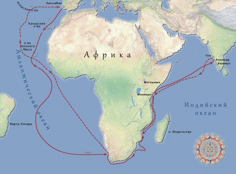 1498 г. Васко да Гама начал завоевание Индии
