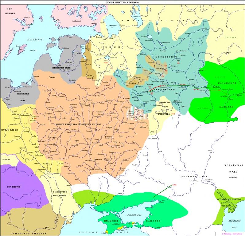 1552 г. Иван IV Грозный присоединил Казанское ханство к Московскому государству