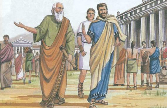 -585 г. (до.н.э) Фалес Милетский успешно предсказал солнечное затмение в Милете