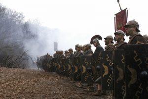 83 г. Агрикола завершает римское завоевание Британии