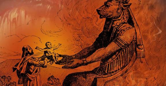 218 г. Гелиогабал устанавливает человеческие жертвоприношения в Италии