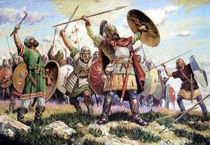 267 г. Готы вторглись на территорию Римской империи, ограбили Вифинию, Коринф, Спарту, Аргос