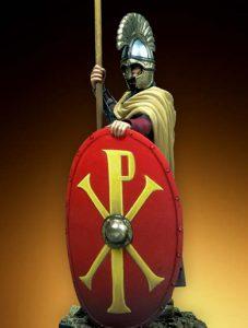 312 г. Константин I Великий видит во сне Христа перед битвой Мульвиева моста