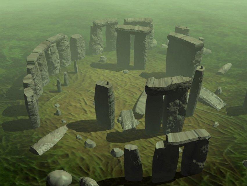 -3020 г. до н.э. Люди использовали святилище Стоунхэндж