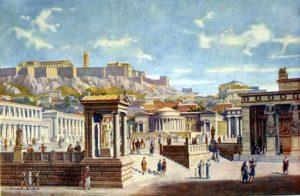 -230 г. до н.э. Хрисипп завершил формирование стоической школы в Афинах