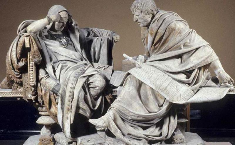 57 г. Сенка, философ стоик, становится римским консулом