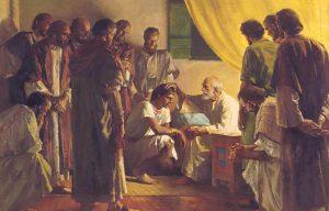 -1800 г. до н.э. Иаков (Израиль) благословил сыновей, семьи которых образовали израильский народ (12 колен Израиля)