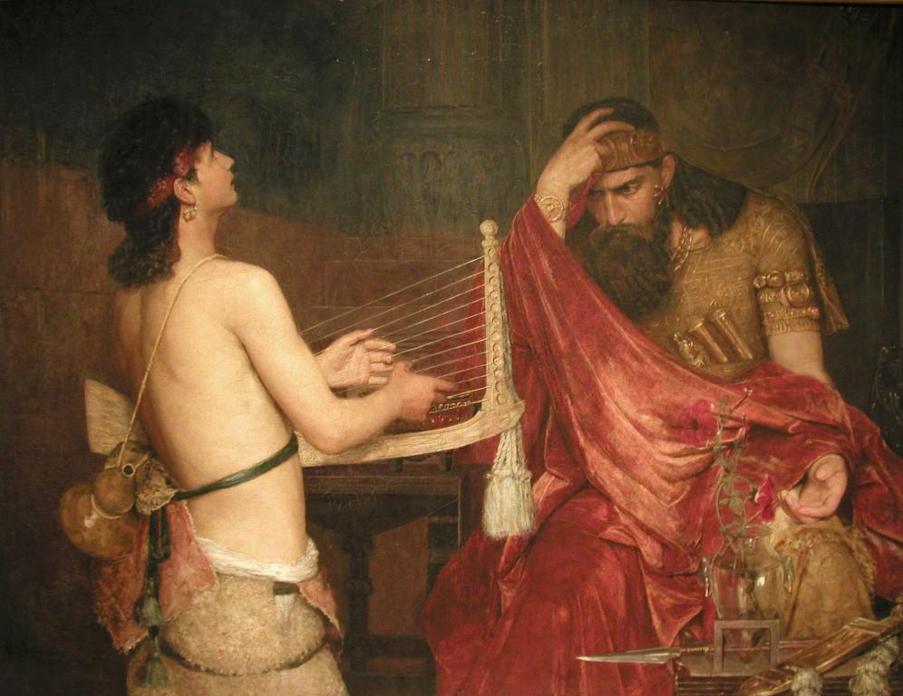 -1005 г. до н.э. Саул, первый правитель (царь) Израиля, погиб в бою с филистимлянами