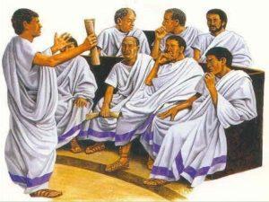 -155 г. до н.э. Карнеад отрицает возможность критерия истинности и формулирует понятие вероятности