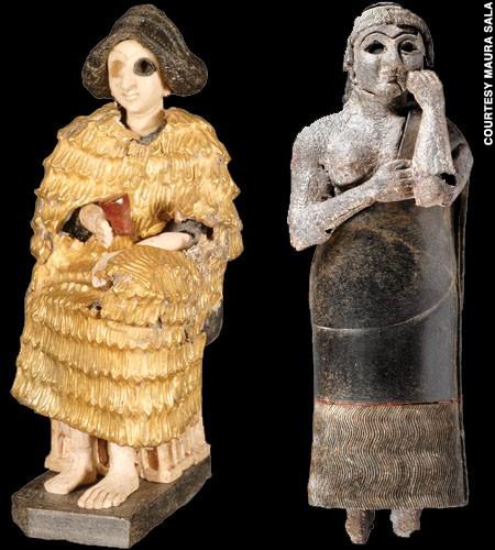 -2500 г. до н.э. Жители Эбла поклонялись Баалу, Дагону, Молоху и Астарте