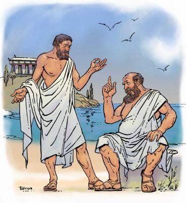 260 г. Плотин, неоплатоник, описывает ступени бытия