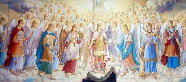 500 г. Псевдо-Дионисий Ареопагит описывает трансцендентность Бога, Небесную и земную иерархии