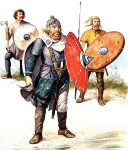 491 г. Тюринги жестоко терроризируют рипуарских франков