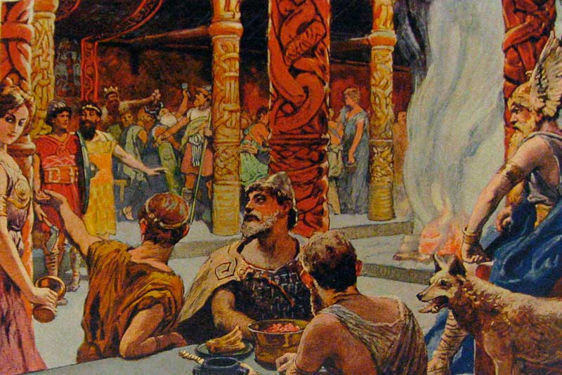 1133 г. Сэмунд Мудрый, записал Старшую Эдду, древнее устное скандинавское предание о богах и героях